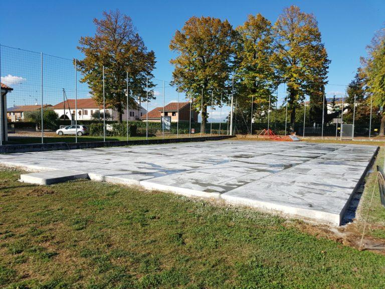 Realizzazione piazzale esterno polifunzionale in cemento armato ad alte prestazioni comunale- Bortolotto Roberto