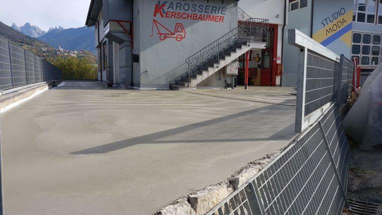 Realizzazione pavimentazione industriale per piazzale - Bortolotto Roberto