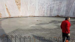Realizzazione Pavimentazione Industriale eterna in Cemento Armato Vasca Ricupero Acque Pavimento Industriale Bortolotto Roberto
