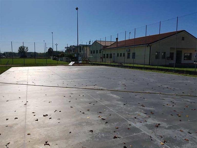 Bortolotto Roberto Piazzale Comunale Multiuso pavimento industriale in cemento armato con/senza colorazione e taglio/giunti