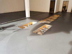 Bortolotto Roberto Pavimento Interno in cemento armato garage