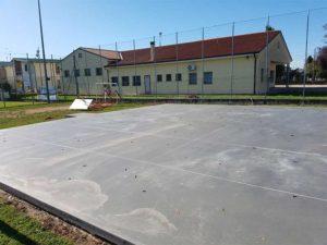 Bortolotto Roberto Mehrzweckquadrat Industrieboden aus Beton