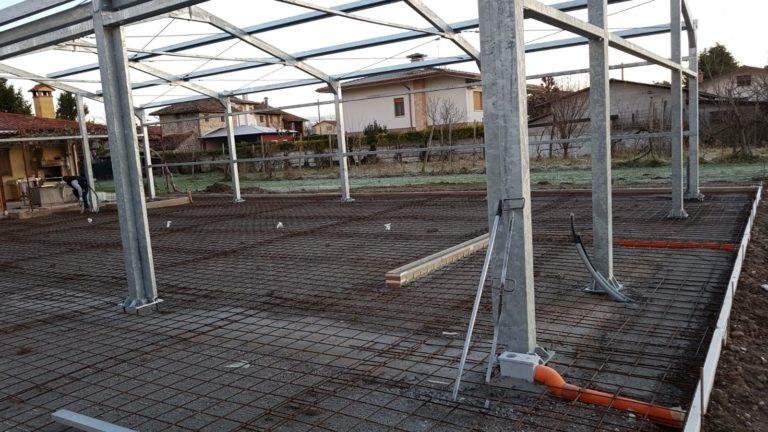 Realizzazione pavimento industriale - Bortolotto Roberto