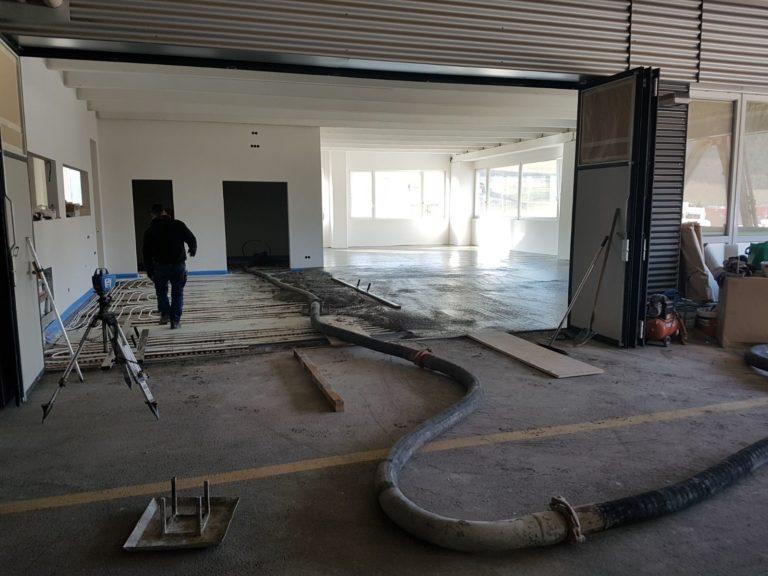 Realizzazione pavimento interno in calcestruzzo - Bortolotto roberto