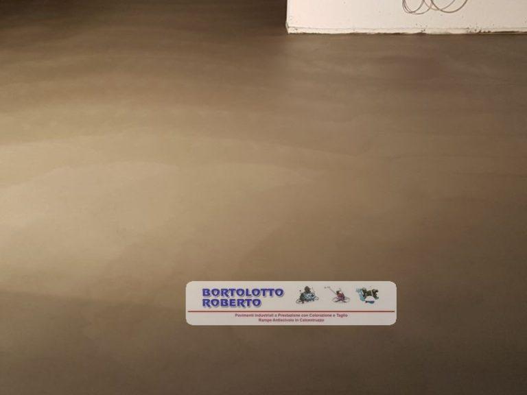Pavimento Interno in Calcestruzzo Anti-usura - Realizzazione Bortolotto Roberto