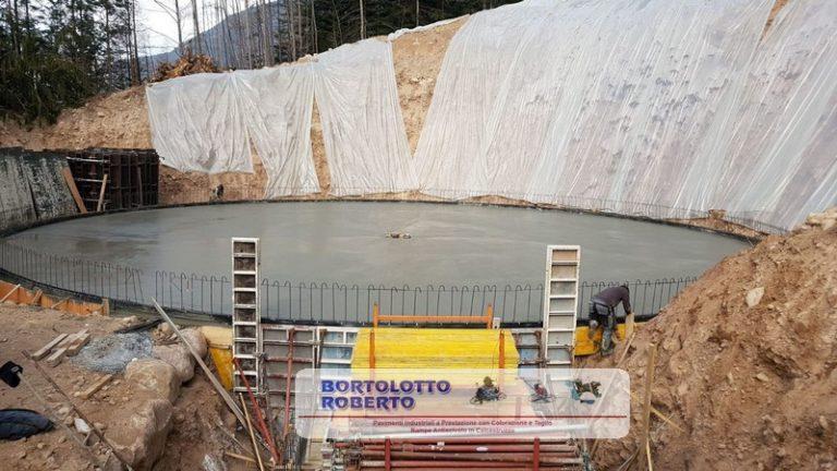 Pavimento Industriale in Calcestruzzo Armato ad Altissime Prestazioni Realizzazione Bortolotto Roberto -