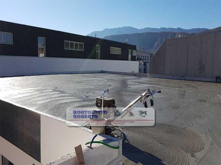pavimento industriale esterno in cemento